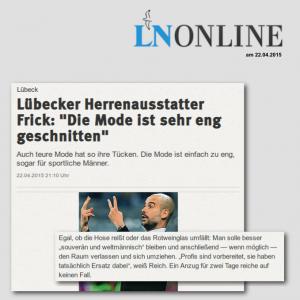 Lübecker Nachrichten – 22.04.2015