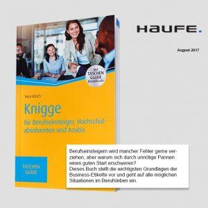 Knigge für Berufseinsteiger, Hochschulabsolventen und Azubis (Haufe Verlag)
